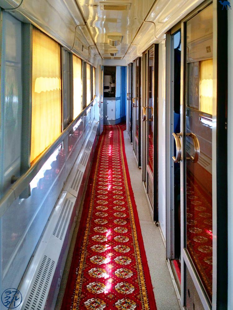 Le Chameau Bleu - Blog Voyage Ouzbékistan - intérieur train ouzbek - Voyage en Ouzbékistan Transport - Informations sur l'Ouzbékistan