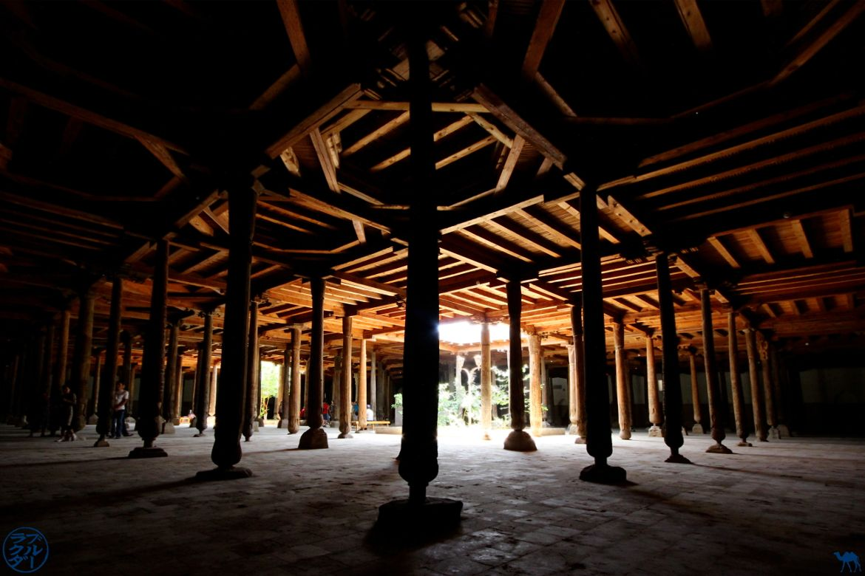 Le Chameau Bleu - Blog Voyage Ouzbékistan - Mosquée Juma à Khiva Ouzbékistan