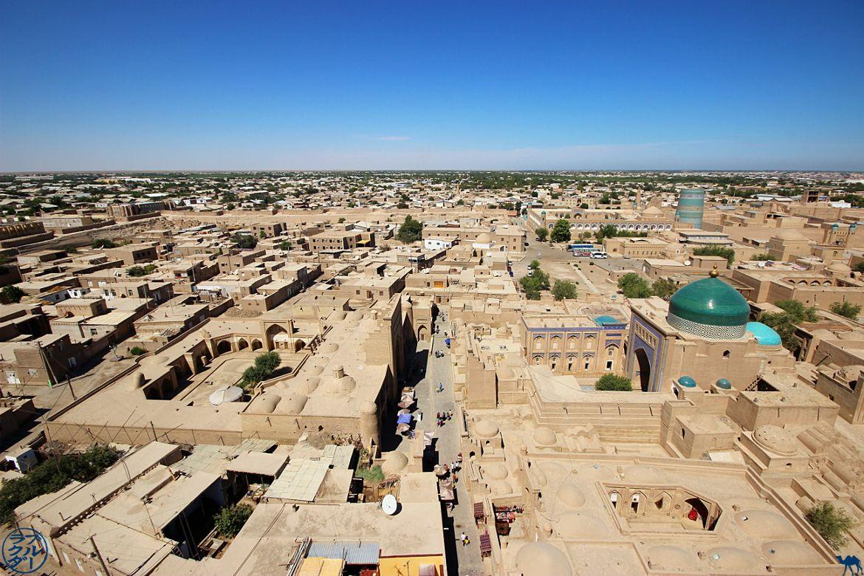 Le Chameau Bleu - Blog Voyage Khiva - Vue depuis un Minaret