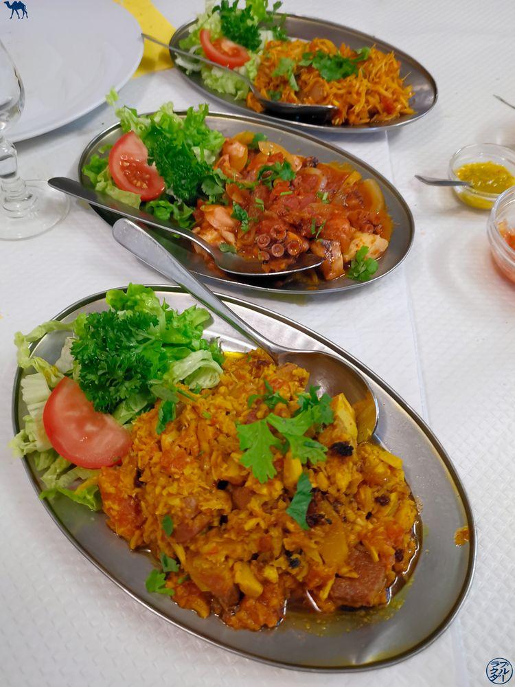 Le Chameau Bleu - Blog Gastronomie - Restaurant Paris- Charrette Créole - Plats