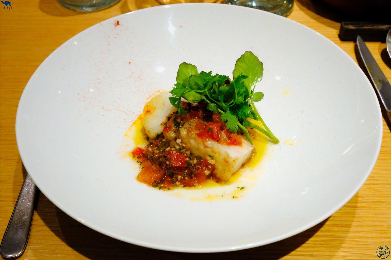 Le Chameau Bleu - Blog Gastronomie - Le Clos Y - Lotte sautée sauce chimichuri