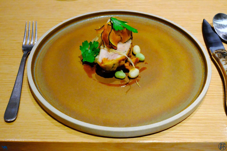Le Chameau Bleu - Blog Gastronomie - Restaurant Gastronomique fusion japonais français - Coquelet du Clos Y