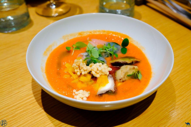 Le Chameau Bleu - Blog Gastronomie - Restaurant Gastronomique Paris Le Clos Y - Carpaccio