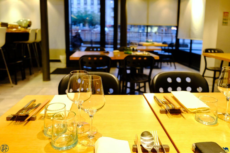Le Chameau Bleu - Blog Gastronomie et Voyage - Restaurant Gastronomique Paris Le Clos Y -salle