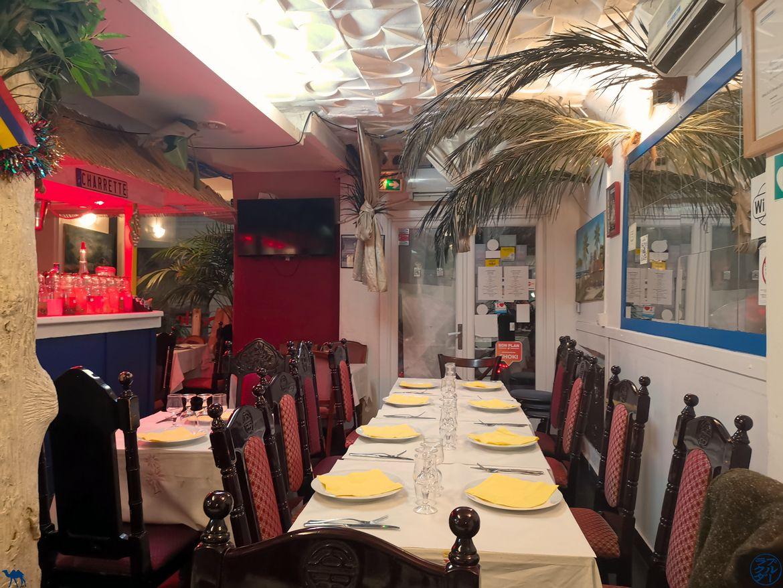 Le Chameau Bleu - Blog Gastronomie - Restaurant Paris- Charrette Créole - salle