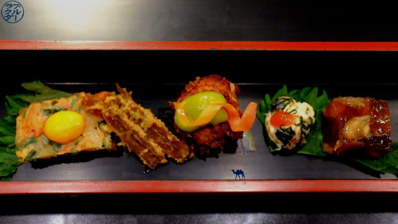 Le Chameau Bleu - Blog Gastronomie et Voyage - Petites bouchées du restaurant gastronomique Guilo Guilo Montmartre