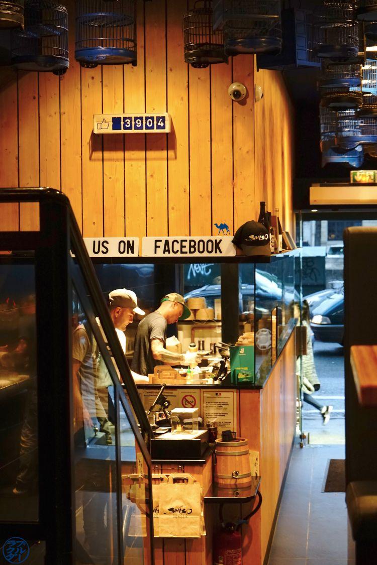 Le Chameau Bleu - Blog Gastronomie et Voyage - Cuisine du Shiso Burger - Restaurant Paris