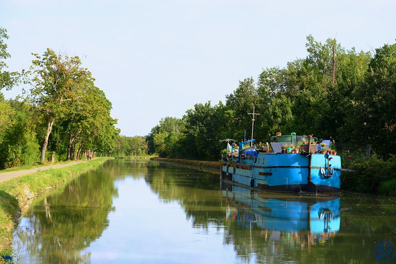 Le Chameau Bleu - Blog Voyage Tarn et Garonne - Péniche sur le Canal des Deux Mers