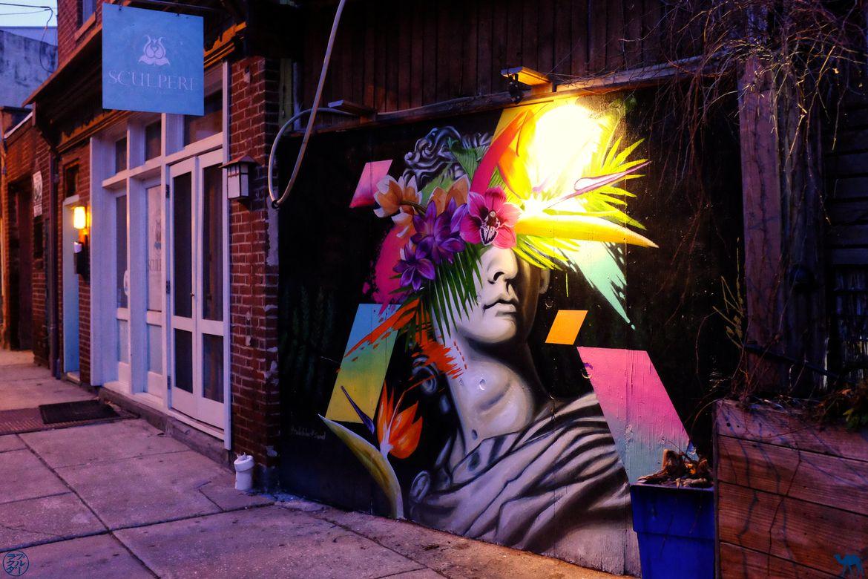 Le Chameau Bleu - Blog Voyage Philadelphie USA - StreetArt Fresque