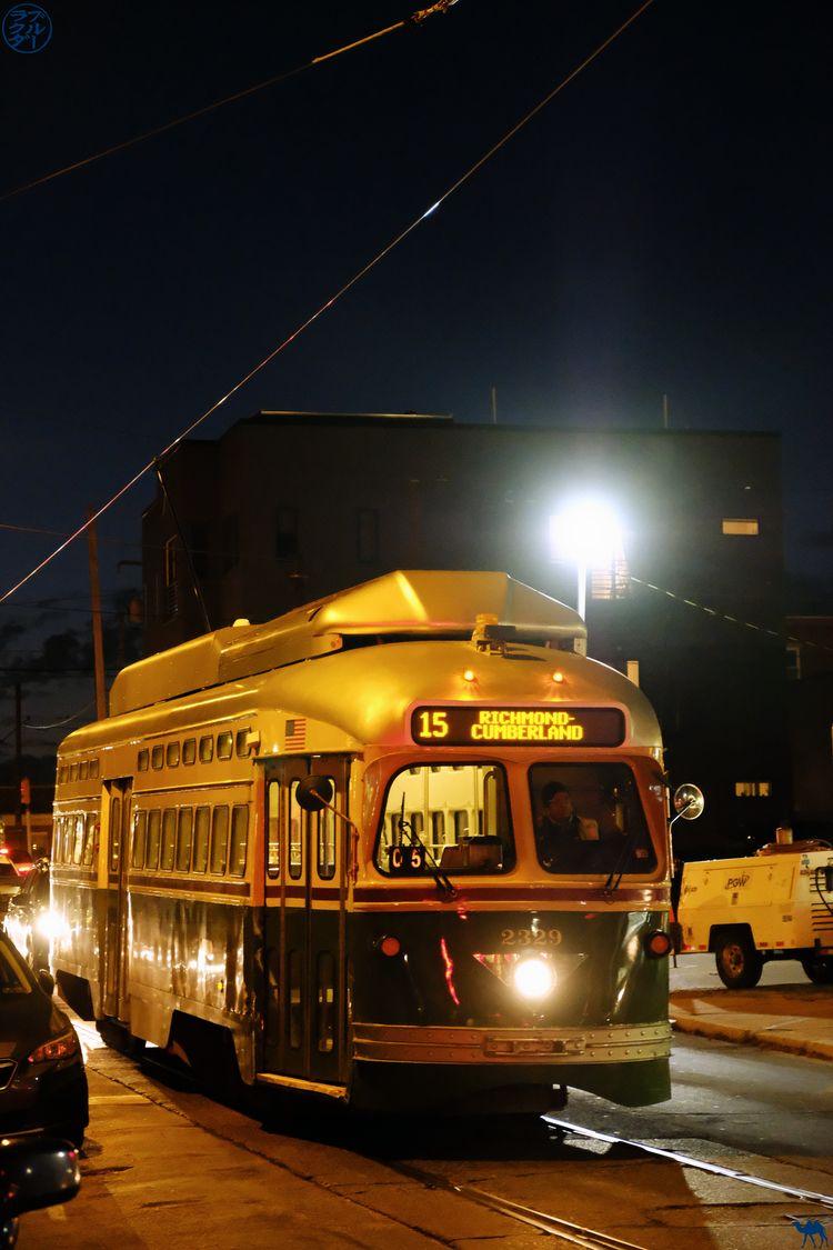 Le Chameau Bleu - Blog Voyage Philadelphie USA - Charme d'antan des Tramways