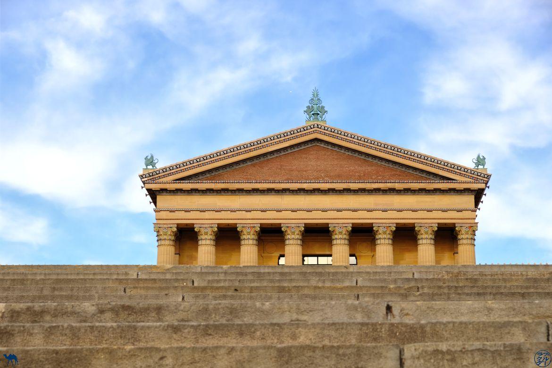 Le Chameau Bleu - Blog Voyage Philadelphie USA - Marches de Rocky