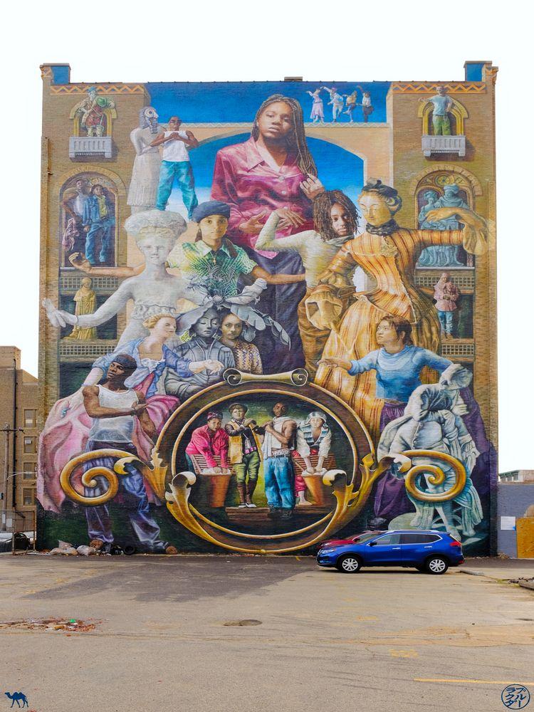 Le Chameau Bleu - Blog Voyage Philadelphie USA - Murals de la ville