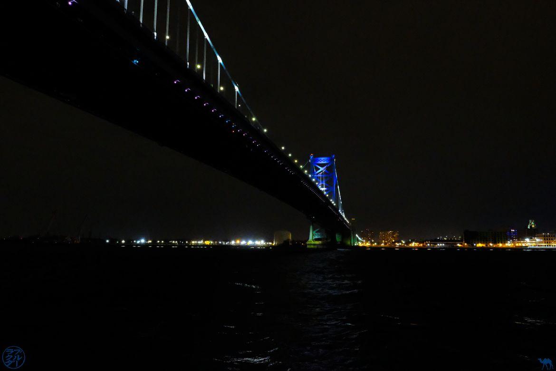 Le Chameau Bleu - Blog Voyage Philadelphie USA - Benjamin Franklin Bridge