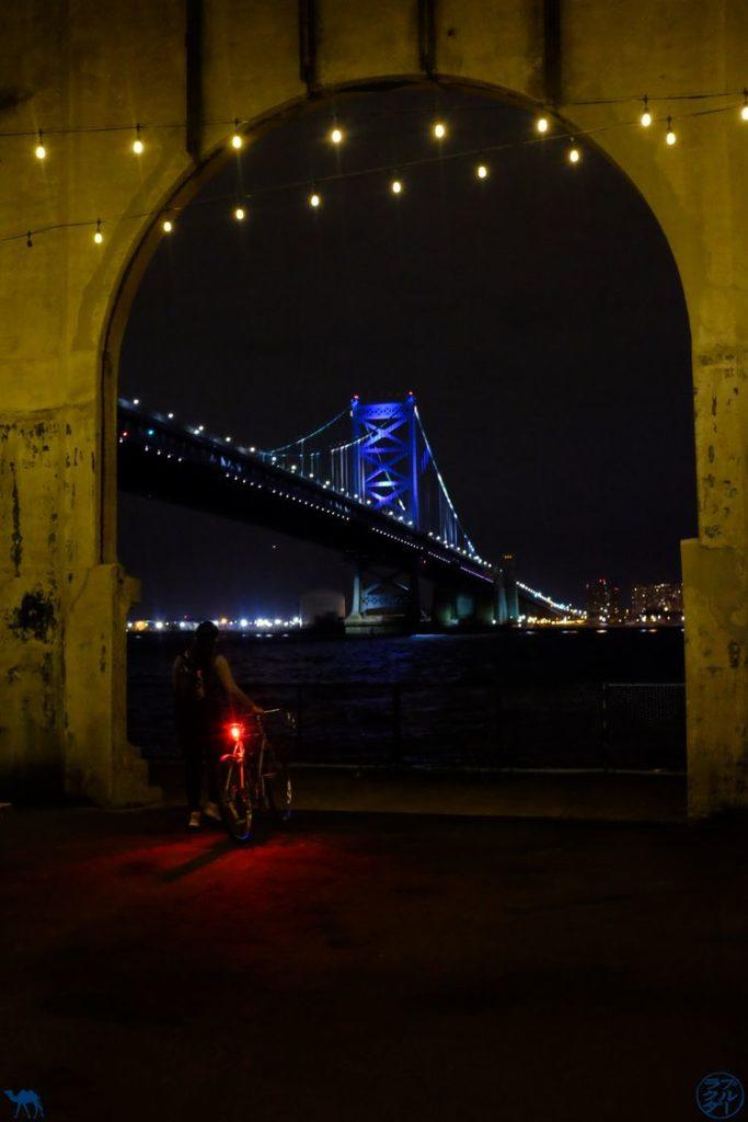 Le Chameau Bleu - Blog Voyage Philadelphie - Benjamin Franklin Bridge