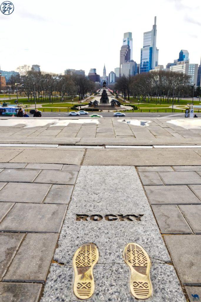 Le Chameau Bleu - Blog Voyage Philadelphie USA - Rocky