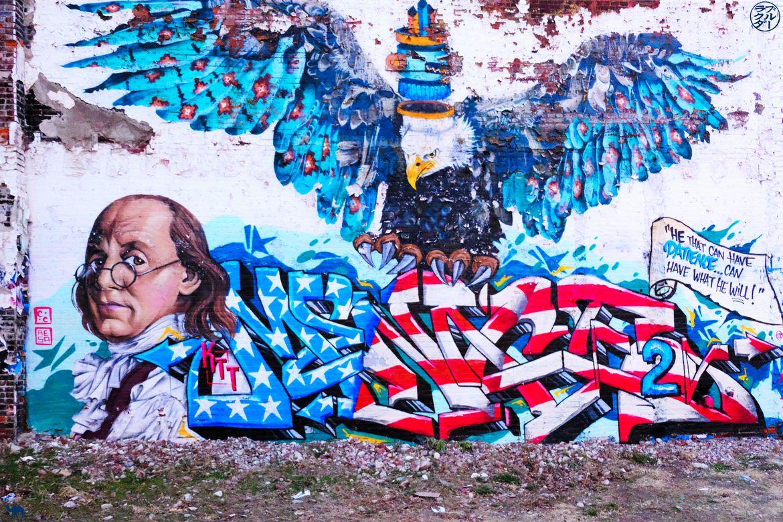 Le Chameau Bleu - Blog Voyage Philadelphie -Street Art