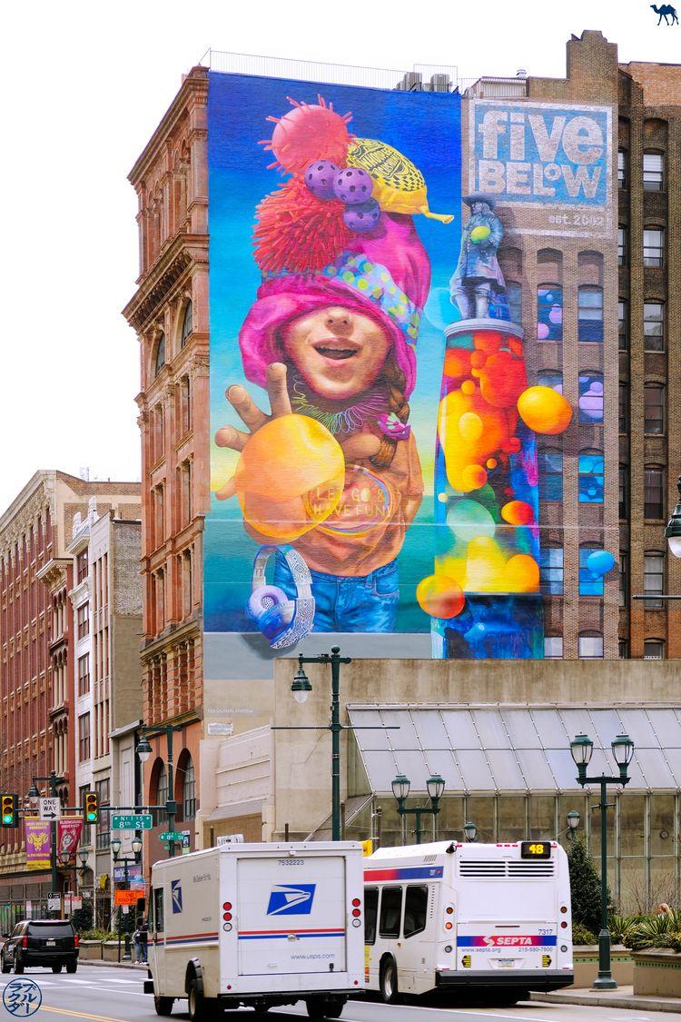 Le Chameau Bleu - Blog Voyage Philadelphie USA -Street Art
