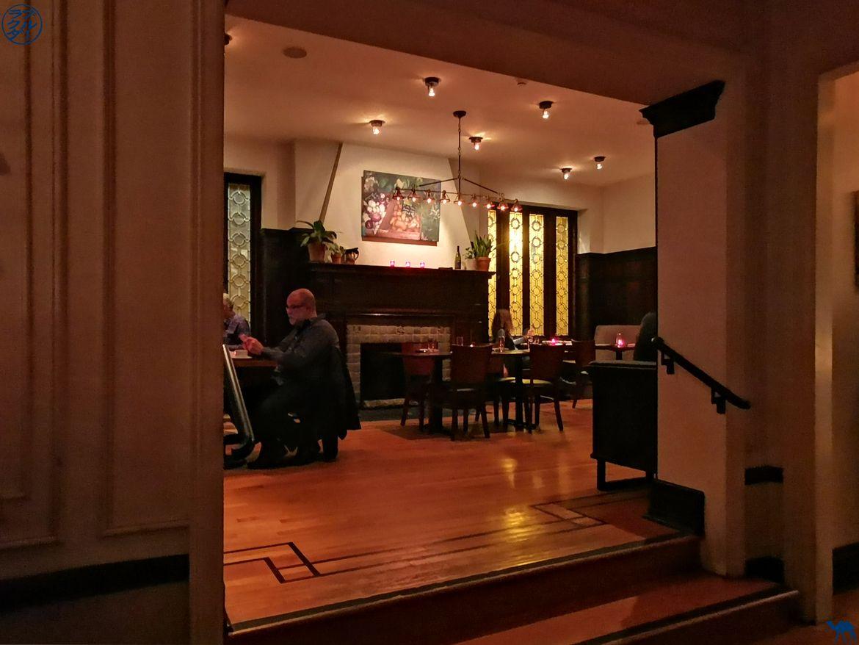 Le Chameau Bleu - Blog Voyage Philadelphie USA - Nos Petites adresses - La salle du restaurant The Wedge