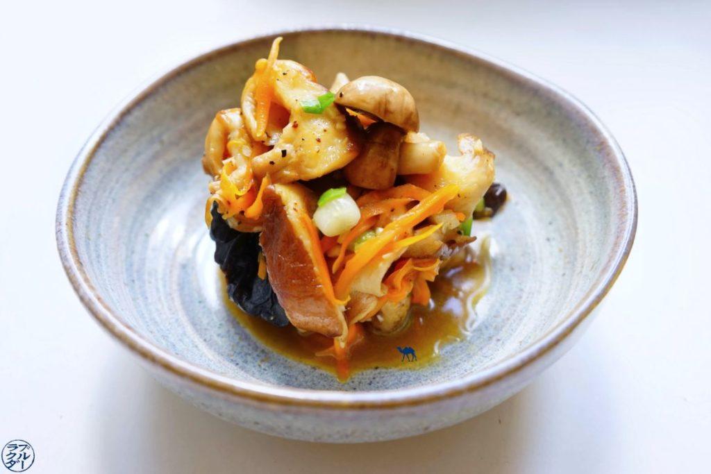 Le Chameau Bleu - Blog Cuisine et Voyage - Poêlée de champignon à la japonaise