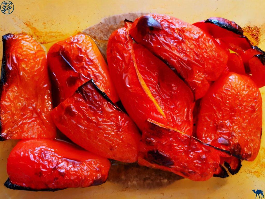 Le Chameau Bleu - Bog Voyage et Cuisine - Poivrons Grillés