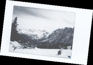 Le Chameau Bleu - Voyage En Autriche - Polaroid du Dachstein