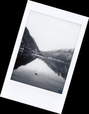 Le Chameau Bleu - Blog Voyage Autriche - Polarid de Hallstatt