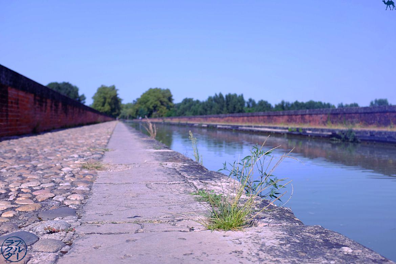 Le Chameau Bleu - Blog Voyage à Vélo sur le Canal des deux Mers - Pont Canal de Cacor Moissac le Tarn Et Garonne