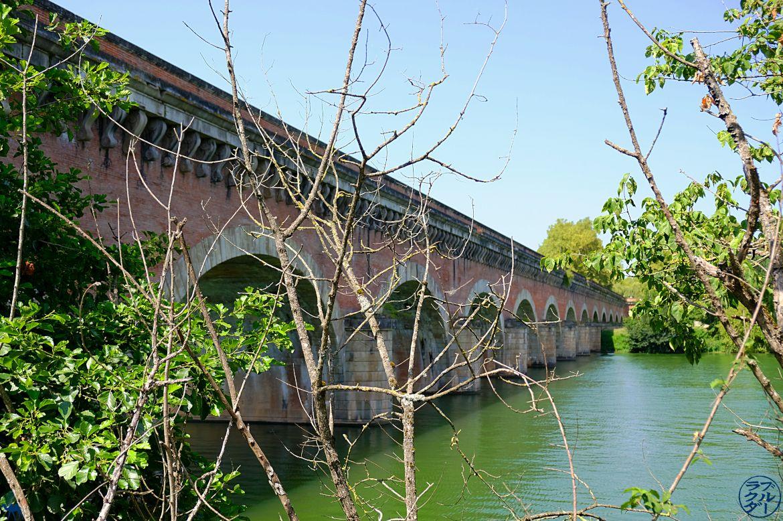 Il cammello Blue - Blog Travel Canal di due mari - ponte canale cacovole nel Tarn e Garonne