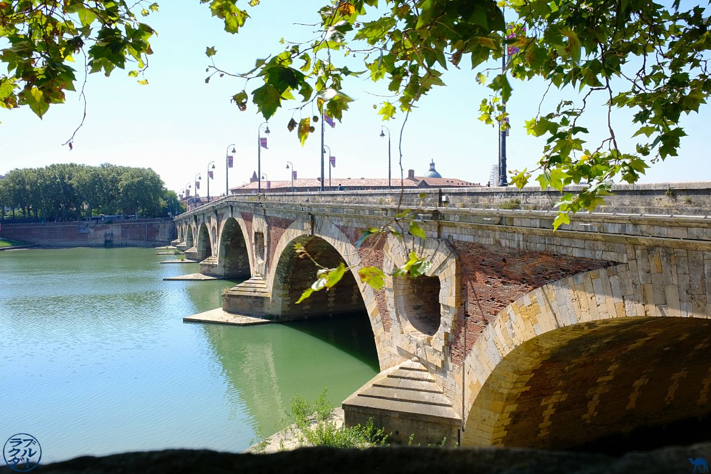 Le Chameau Bleu- blog voyage Canal des deux Mers -Pont neuf Toulouse