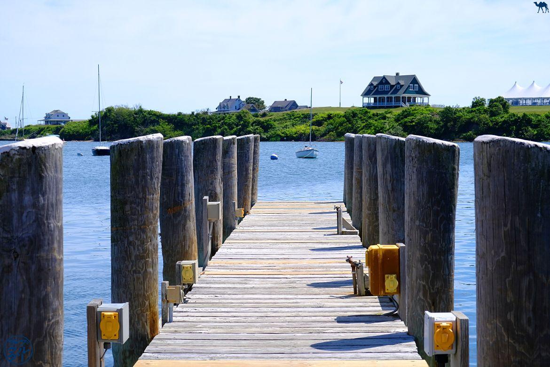 Le Chameau Bleu - Blog Voyage Block Island - Le nouveau port de Block Island - USA