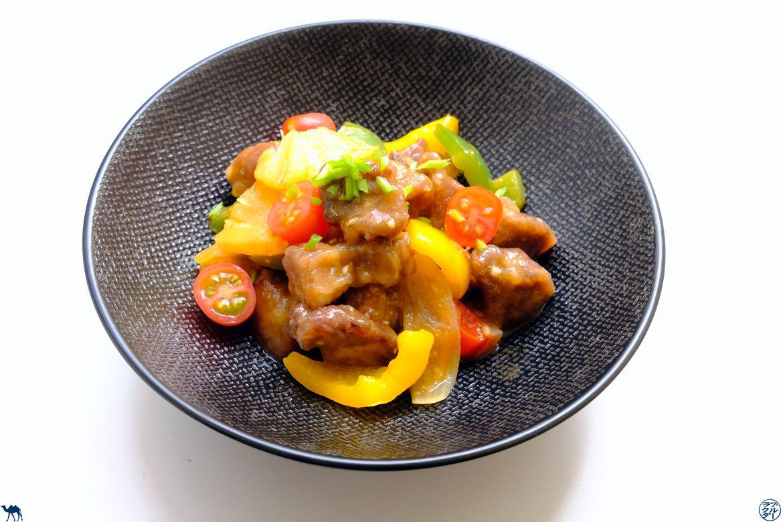 Le Chameau Bleu - Blog Cuisine - Recette de Porc à l'Aigre Doux