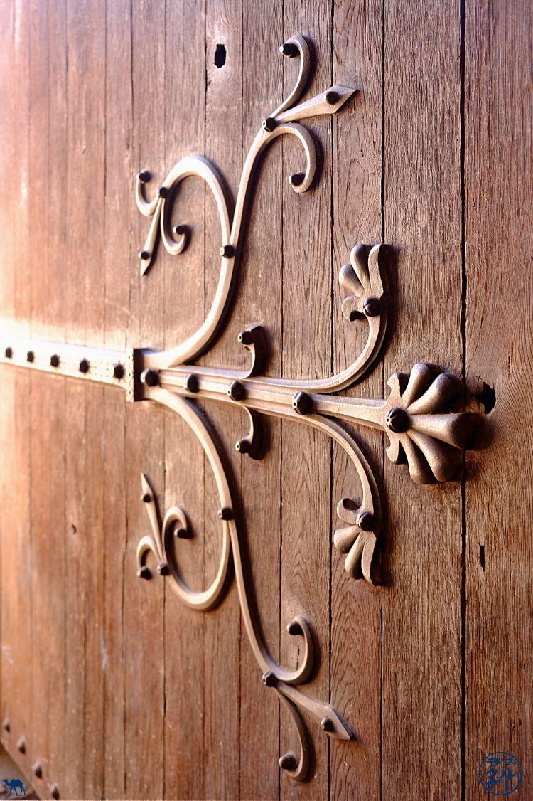 Le Chameau Bleu - Blog Voyage sur le Canal des Deux Mers à Vélo - Porte de l'Abbaye de Moissac Tarn Et Garonne
