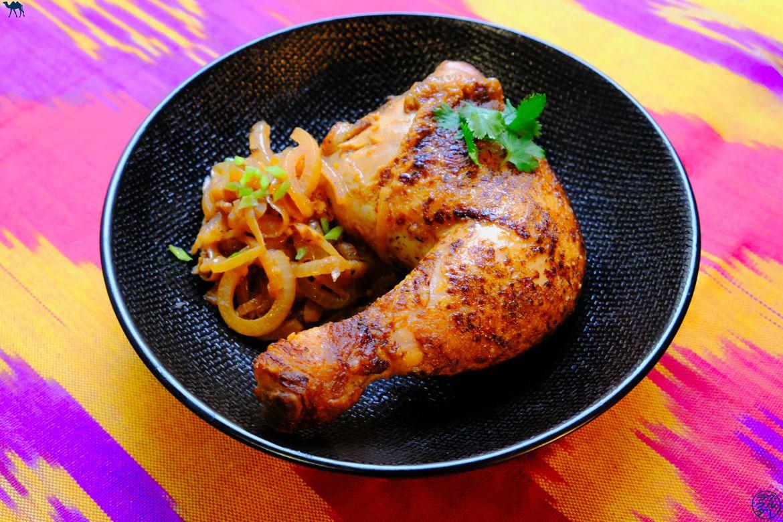 Le Chameau Bleu - Blog Gastronomie et Voyage - Poulet Yassa