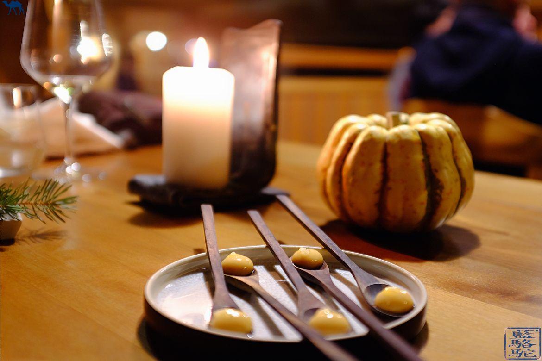 Le Chameau Bleu - Blog Voyage & Gastronomie - Prédessert à l'Atelier d'Edmond