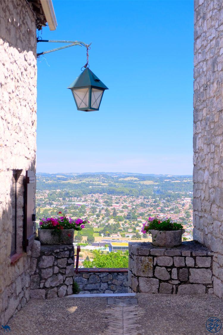 Le Chameau Bleu - Blog Voyage Lot Et Garonne - Vue de Pujols