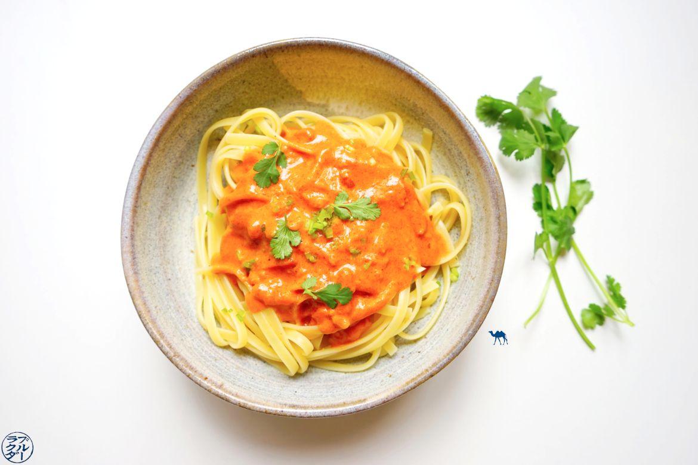 Le Chameau Bleu - Blog Recette et Voyage - Sauce CoCo Tomate Gingembre - Recipe