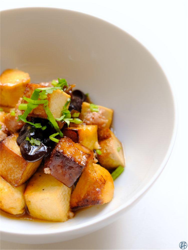 Le Chameau Bleu - Blog Gastronomie -Tofus Sautés Porc Haché