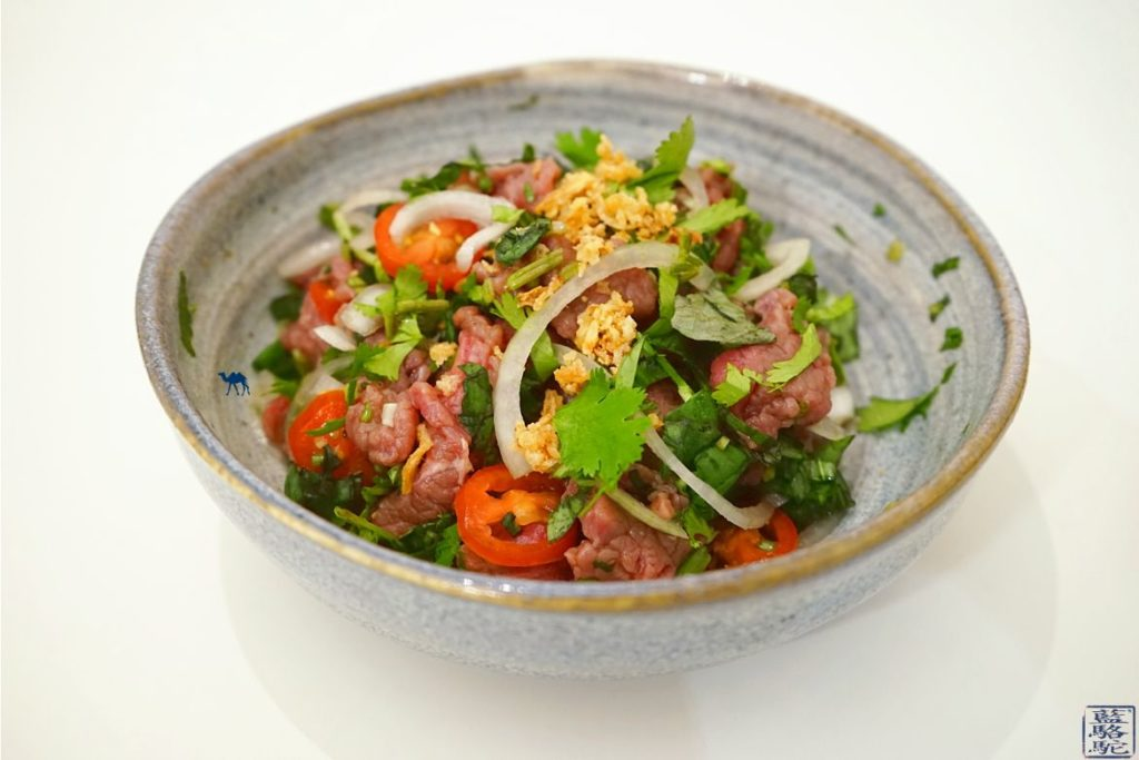 Le Chameau Bleu - Blog Cuisine asiatique et Voyage - Recette du tartare de boeuf vietnamien