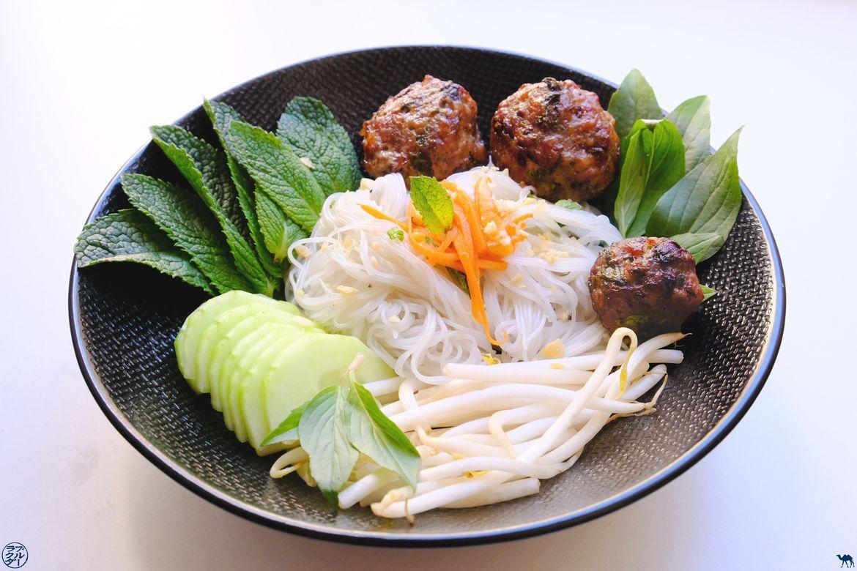 Le Chameau Bleu - Blog Voyage et Gastronomie - Recette Boulette de viande vietnamienne - Bun Cha