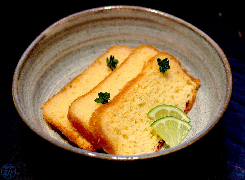 Le Chameau Bleu -Blog Cuisine et Voyage - Recette CAKE COCO - CITRON VERT - LIQUEUR DE YUZU