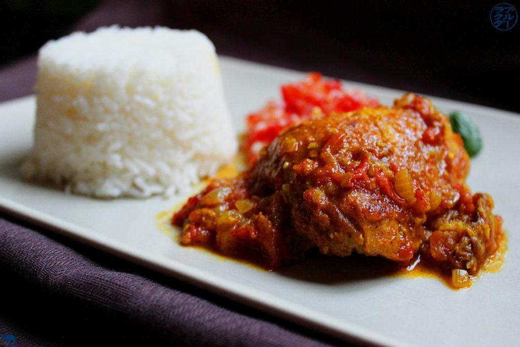 Le Chameau Blue - Blog Gastronomie - Cari de Poulet - Recette créole