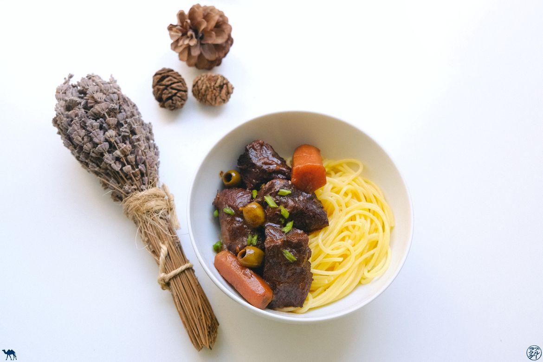 Le Chameau Bleu - Blog Cuisine et Voyage - Recette de la daube provençale de mémé