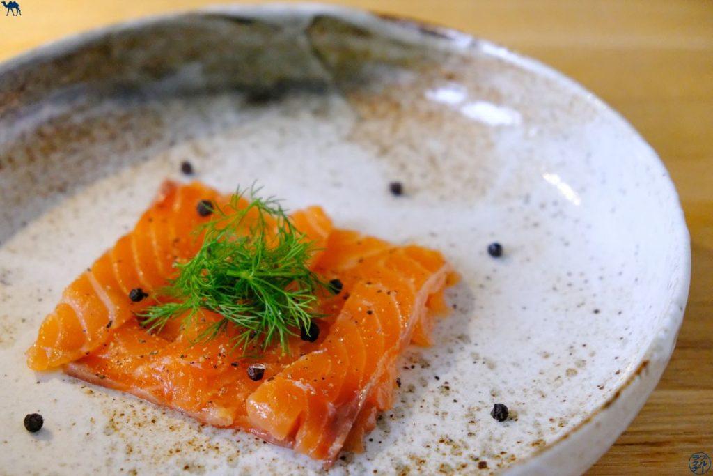 Le Chameau Bleu - Blog Gastronomie - Saumon Gravlax au Poivre de Kampot
