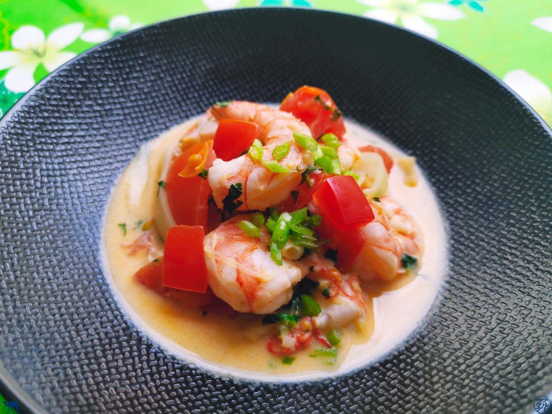 Le Chameau Bleu - Blog Cuisine et Voyage - Moqueca de Crevettes Recette brésilienne