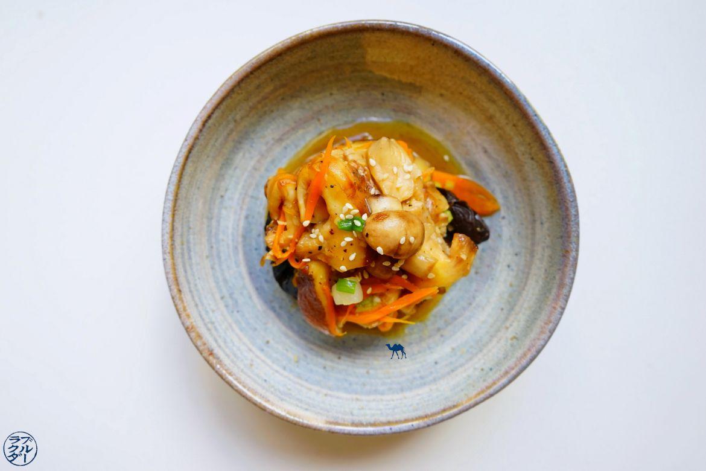 Le Chameau Bleu - Blog Voyage et Gastronomie - Poêlée de champignon sauce teriyaki