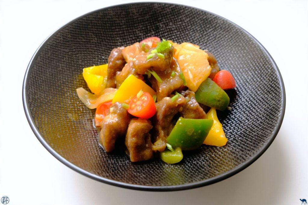 Le Chameau Bleu - Blog Gastronomie - Recette de Porc à l'aigre-doux