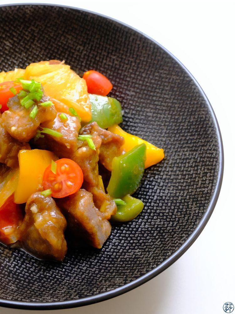 Le Chameau Bleu - Blog Gastronomie - Recette de Porc à la sauce aigre douce