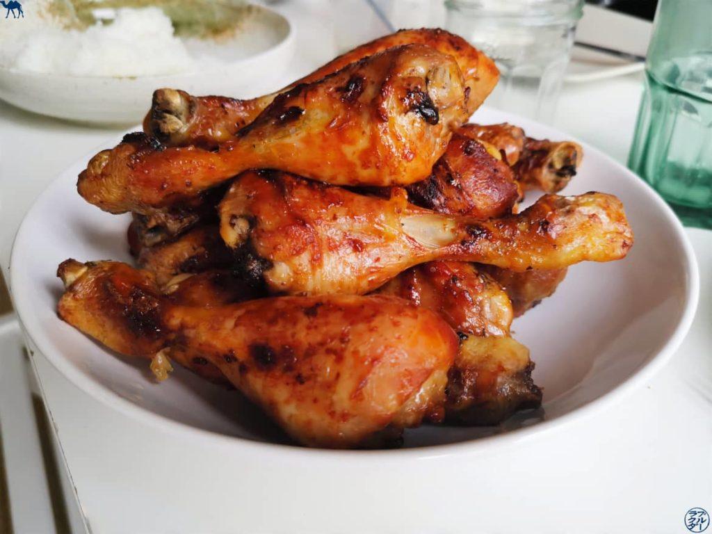 Recette de poulet grillé et mariné au miel et sauce de soja