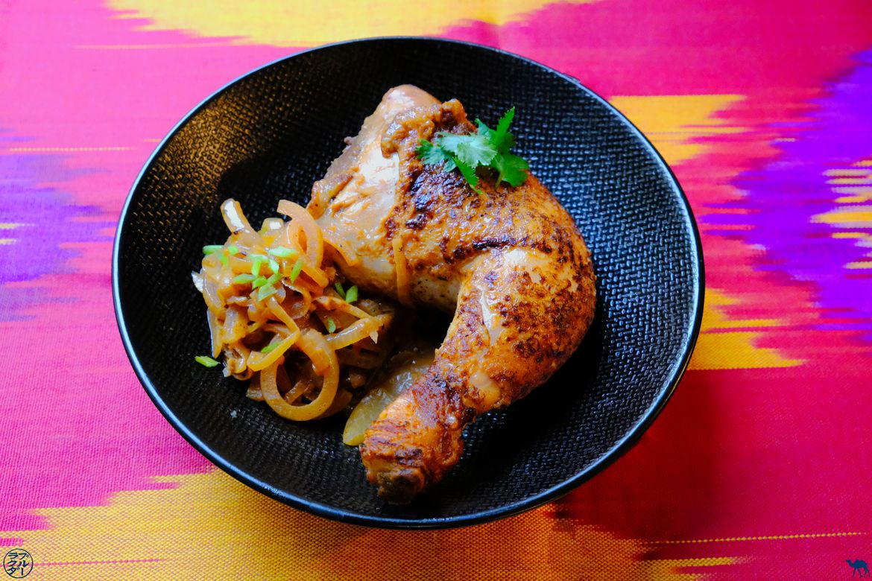 Le Chameau Bleu - Blog Gastronomie et Voyage - Recette africaine du Poulet Yassa