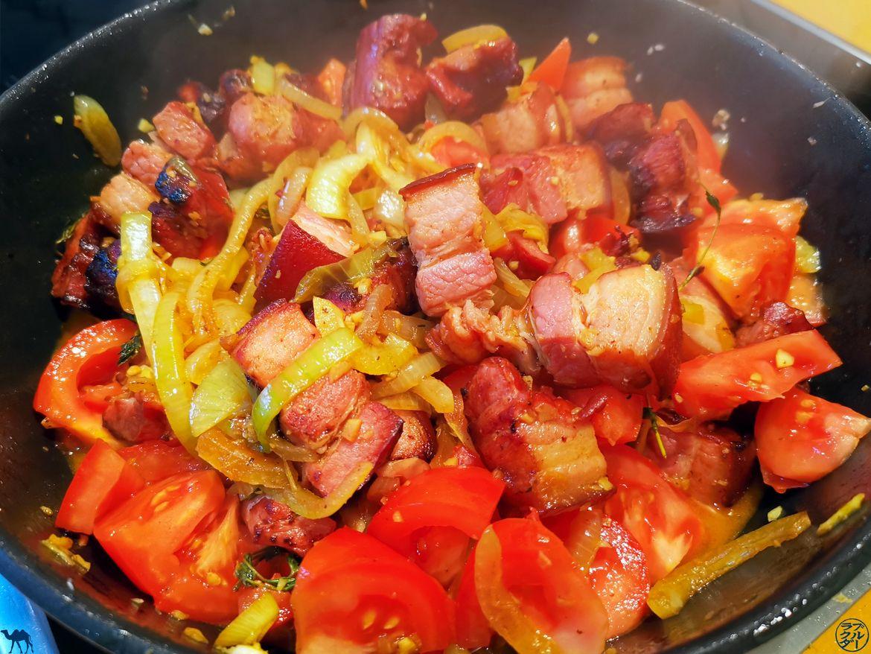 Le Chameau Bleu - Blog Gastronomie - Cuisson Rougail de Porc
